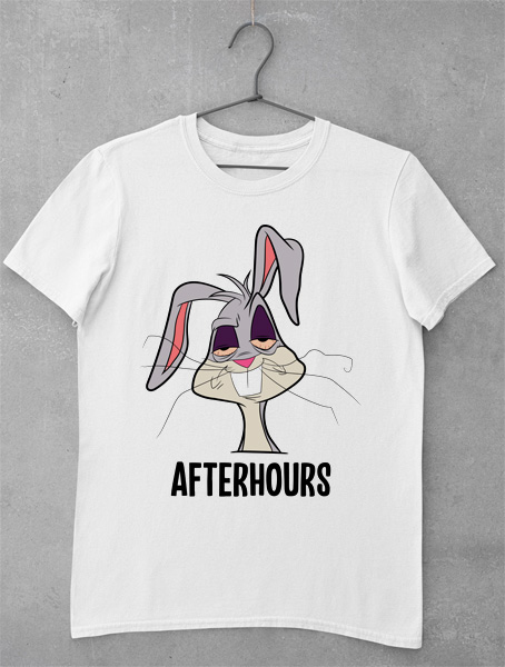 tricou bugs bunny after hoours