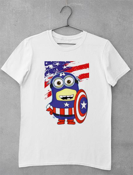 tricou captain minion