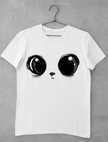 tricou ochi de pisica