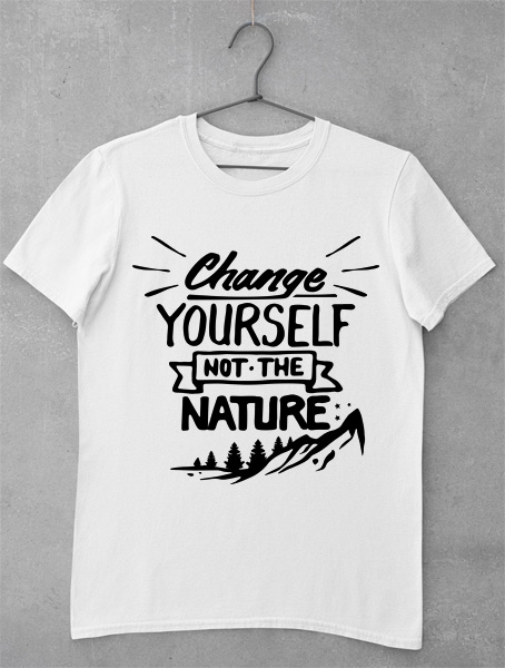 tricou change yourself