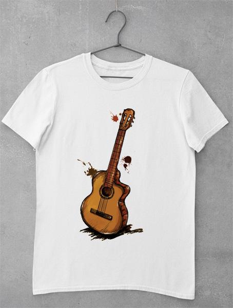 tricou chitara