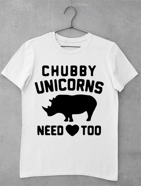 Tricou Chubby Unicorn