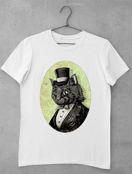tricou pisica classy