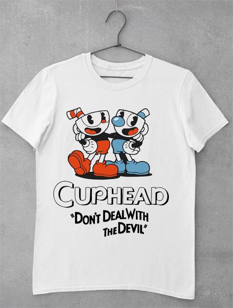 tricou cuphead