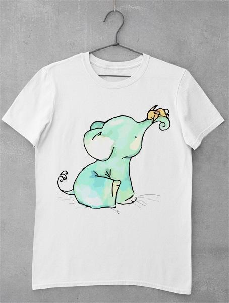 tricou elefant simpatic