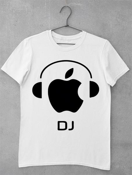 tricou dj apple