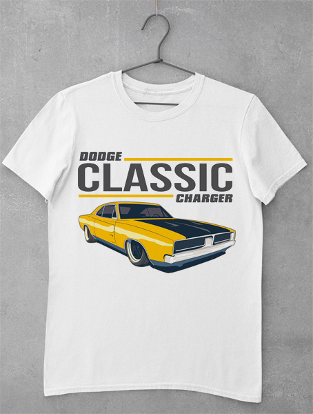 tricou dodge charger