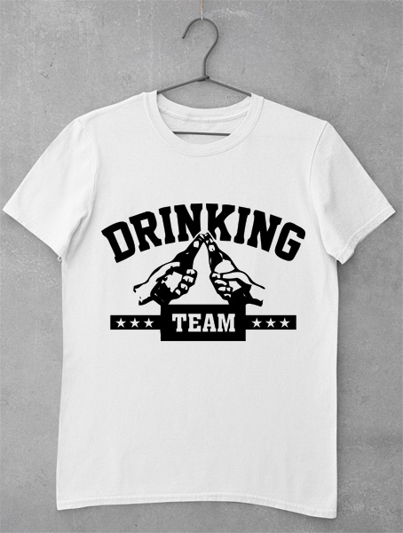 tricou drinking team