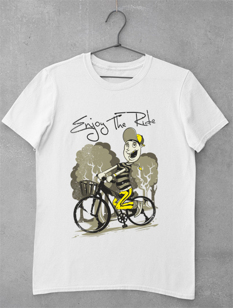 tricou enjoy the ride