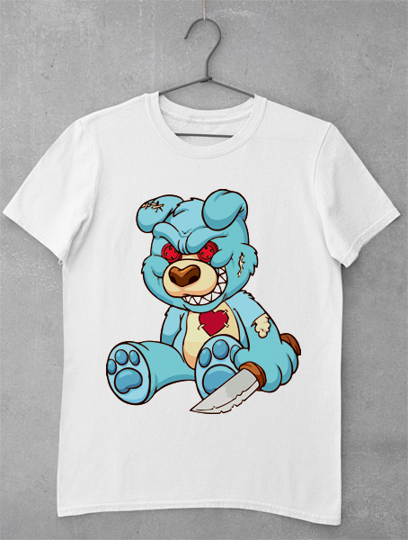 tricou evil teddy bear