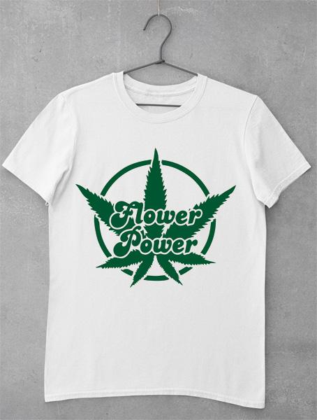 tricou flower power