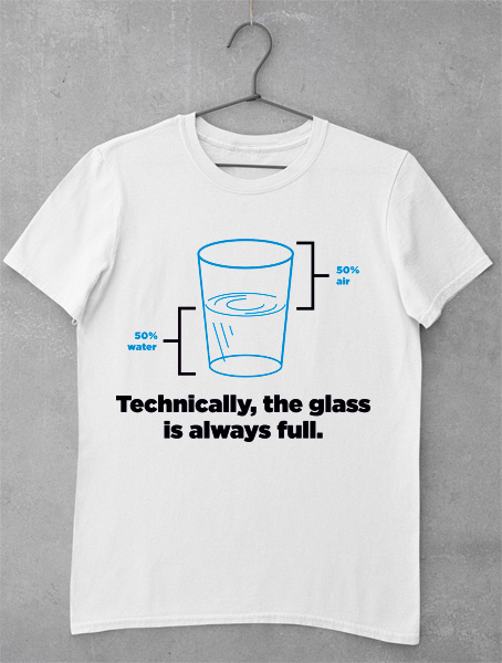 tricou full glass funny