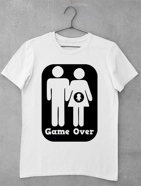 tricou game over gravida