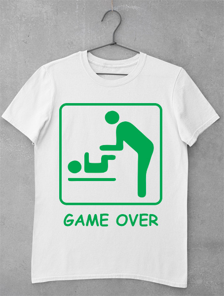 tricou game over tatic