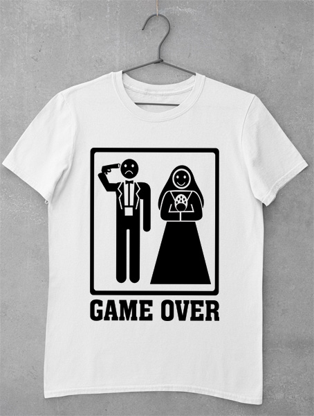 Tricou Burlac - Game Over