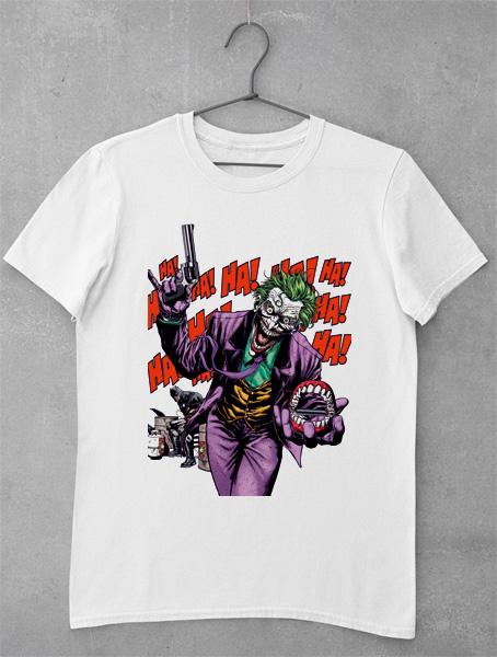 tricou ha ha ha joker
