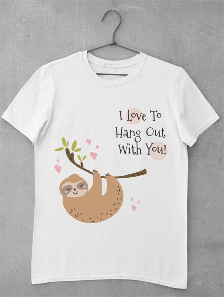 Tricou Hang Out with You