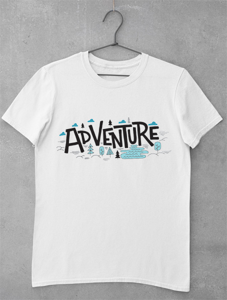 tricou hipster adventure