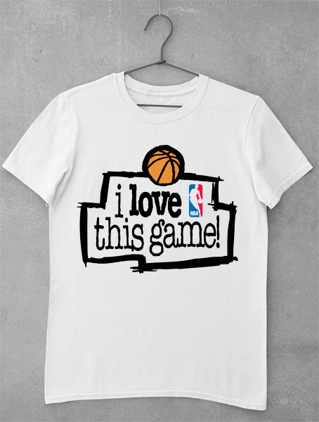 Tricou I Love This Game