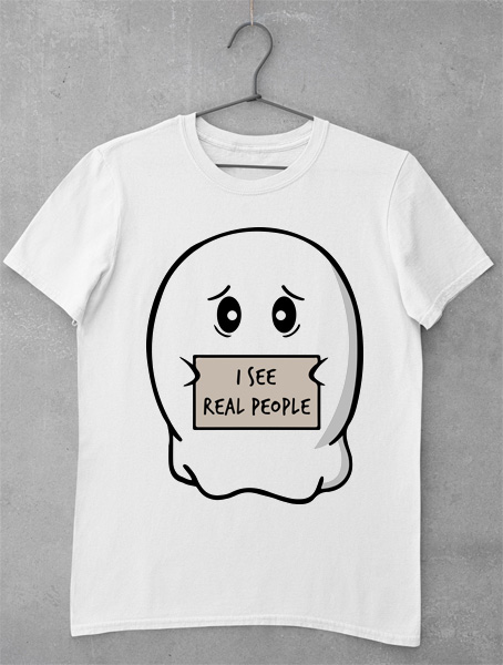 tricou i see real people