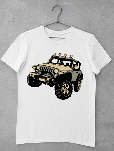 tricou jeep