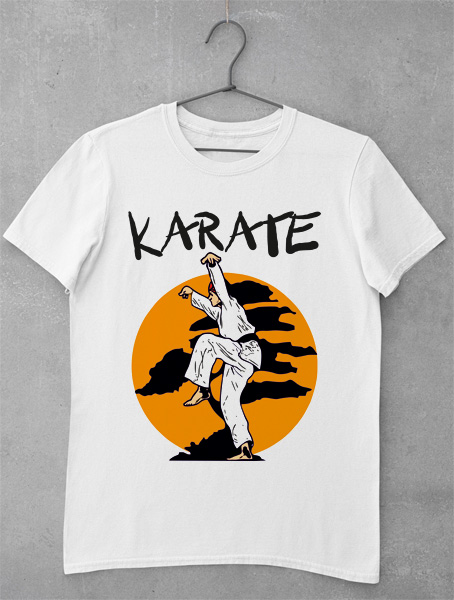 tricou karate kid