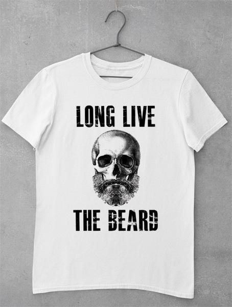 tricou long live beard