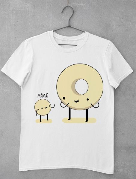 tricou mama doughnut