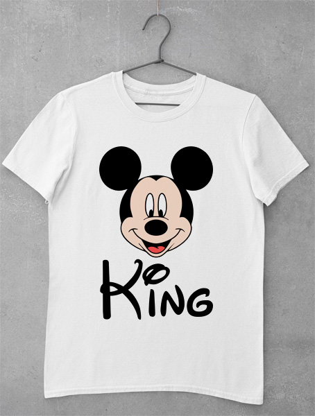 tricou mickey king