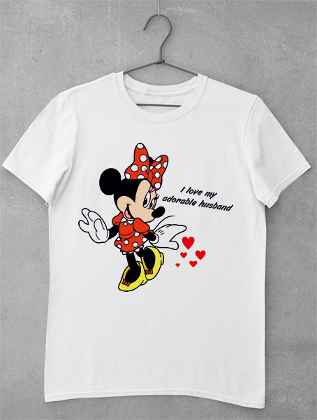 Tricou Minnie Adorable Husband