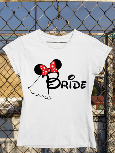 tricou minnie bride