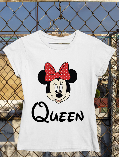 tricou minnie queen