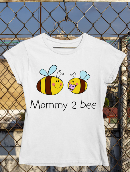tricou mommy to bee