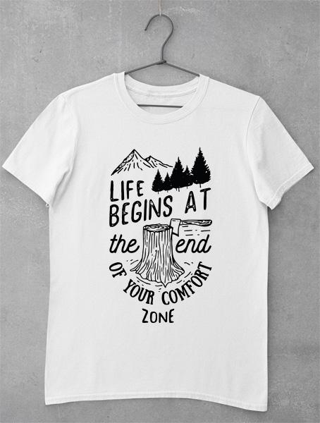 tricou motivational confort zone