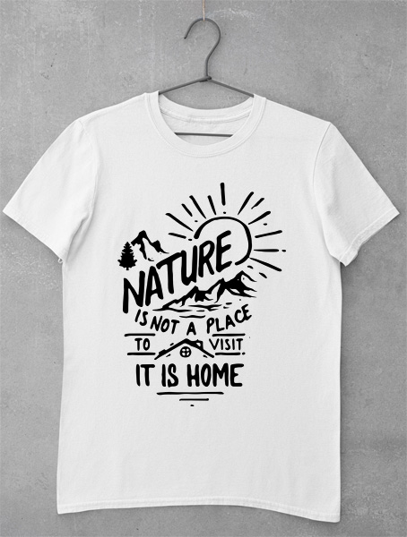 tricou nature is home