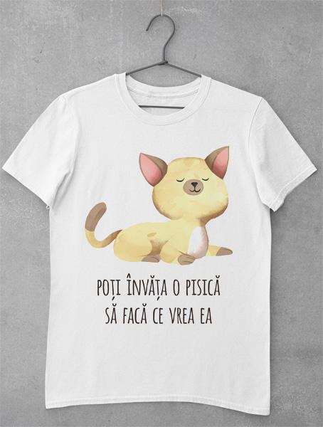 tricou o pisica face ce vrea