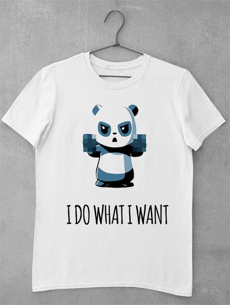 tricou panda finger