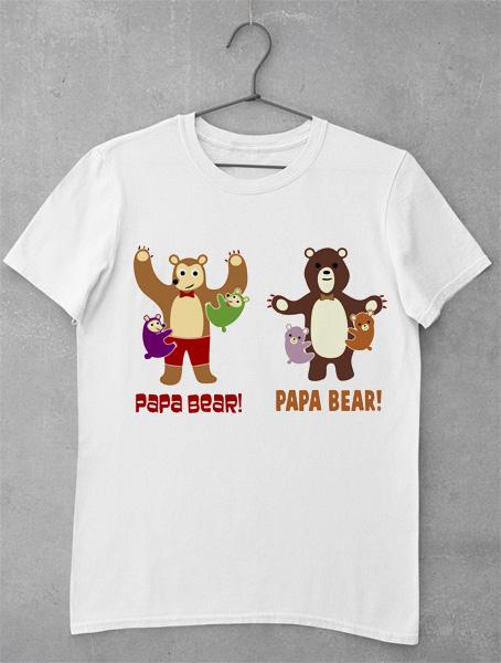 tricou papa bear