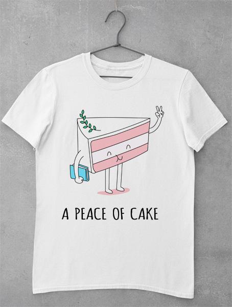 tricou peace of cake