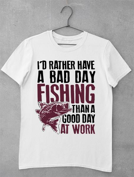 Tricou Pescar - Fishing Day