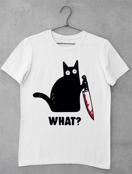 tricou pisica what