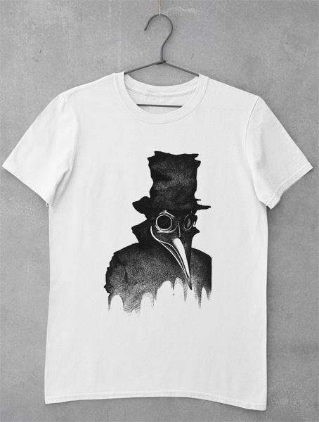tricou plague doctor