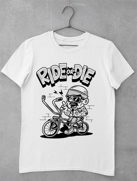 tricou ride or die