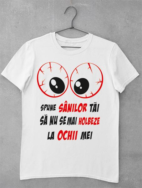 tricou spune sanilor tai