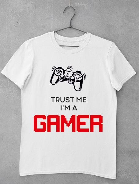 tricou trust me gamer
