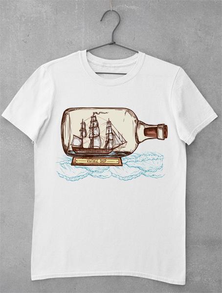 tricou vintage ship