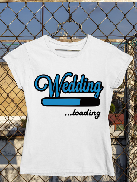 tricou wedding loading