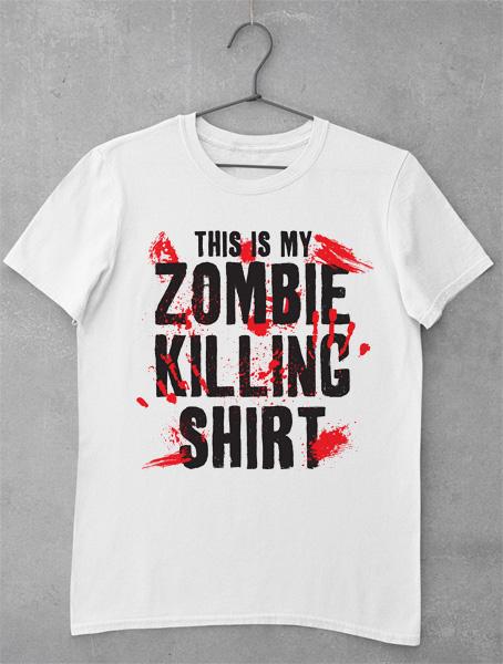tricou zombie killing shirt