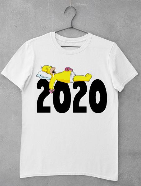 tricou 2020 homer simpson