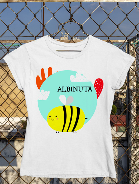 tricou albinuta